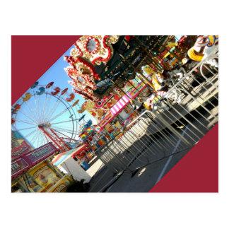Travelling Carnivals/Funfair Postcard