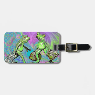 Travelling Frogs Luggage Tag