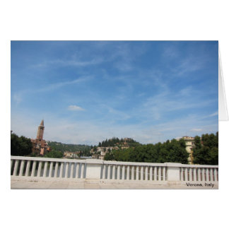 Travelling in Northern, Italy Greeting Card