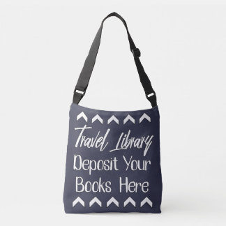 Travelling Library Crossbody Bag