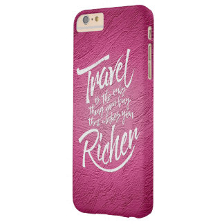 Travelling quote - artistic design barely there iPhone 6 plus case