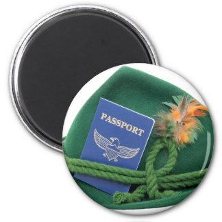 TravelsAbroad053109 6 Cm Round Magnet