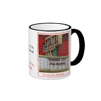 Traverse City Film Festival Ringer Mug