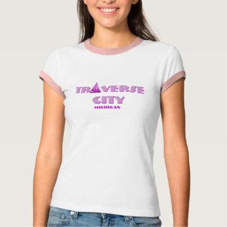 Traverse City, MI - Sailboat T-Shirt