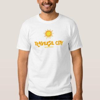 TRAVERSE CITY, MICHIGAN - Eve Essential Crew Tee Shirt