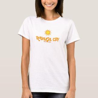 TRAVERSE CITY , MICHIGAN - Ladies Baby Doll T-Shirt