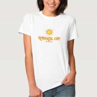 TRAVERSE CITY, MICHIGAN - Ladies Petite T-Shirt