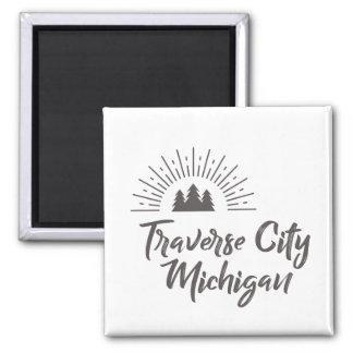 TRAVERSE CITY MICHIGAN MAGNET