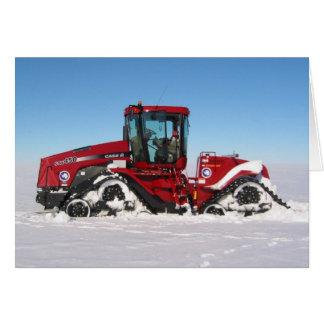 Traversing Arctic Tractor Card