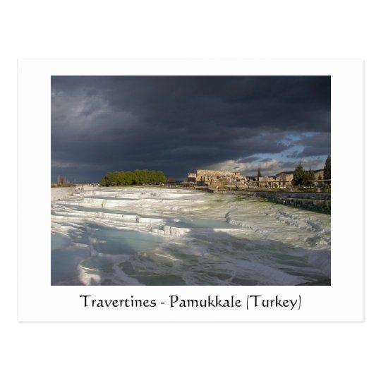 Travertines - Pamukkale (Turkey) Postcard