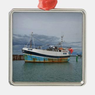 Trawler Galwad-Y-Mor Christmas Ornament