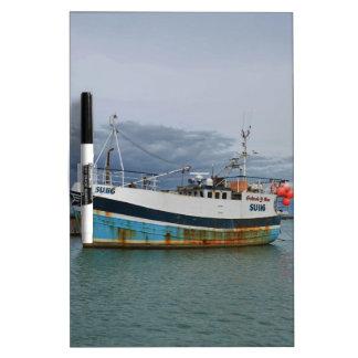 Trawler Galwad-Y-Mor Dry-Erase Board