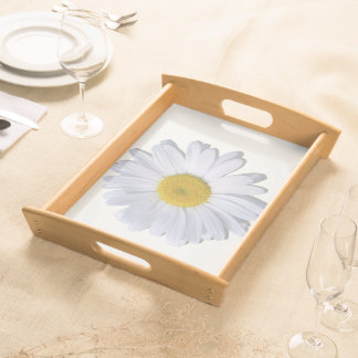Tray - Serving - New Daisy on Off-White