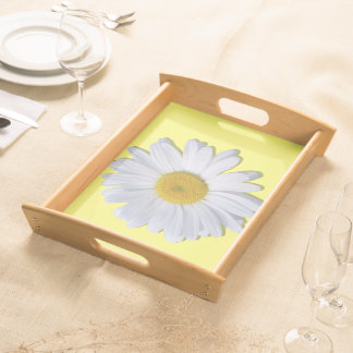 Tray - Serving - New Daisy on Yellow