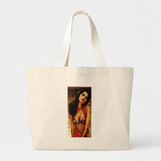 Trazi Pose Tote Bags