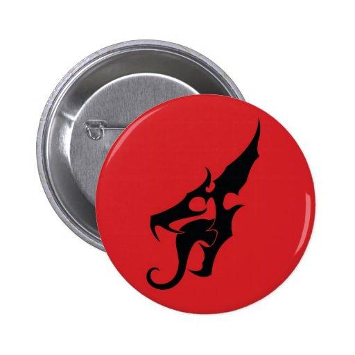 TRD Dragonhead Logo Button