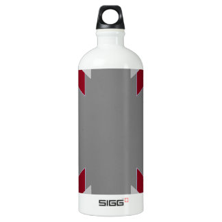 TRE 4 Triangles Abstract Grey Blue Red White SIGG Traveller 1.0L Water Bottle
