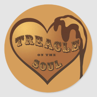 Treacle on the Soul Round Sticker