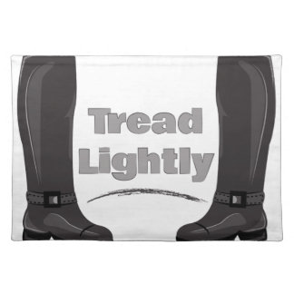 Tread Lightly Placemat