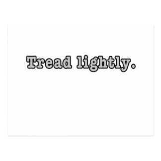 Tread Lightly Postcard
