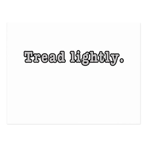 Tread Lightly Post Cards