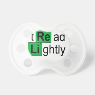 tread lightly T-Shirts.png Baby Pacifier