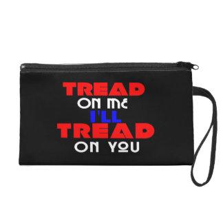Tread On Me I'll Wristlet