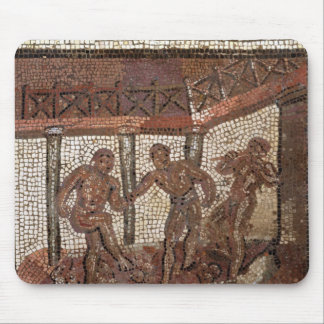 Treading grapes, from Saint-Roman-en-Gal Mouse Mat