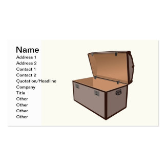 Treasure box pack of standard business cards
