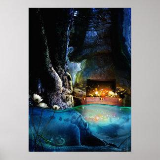 Treasure Cave Poster