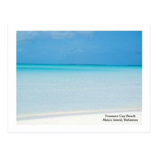 Treasure Cay Beach Postcard