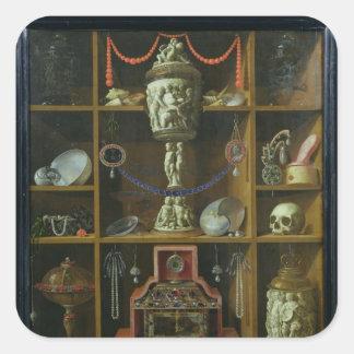 Treasure Chest, 1666 Square Sticker