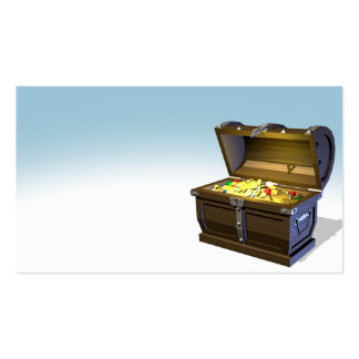 Treasure Chest Pack Of Standard Business Cards