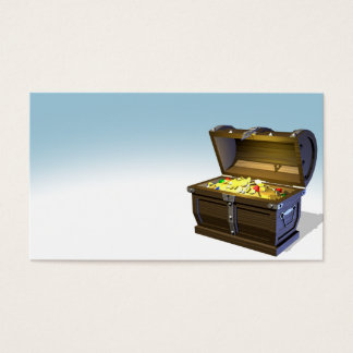 Treasure Chest Business Card