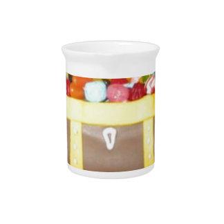 Treasure chest cake beverage pitchers