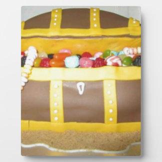 Treasure chest cake plaque