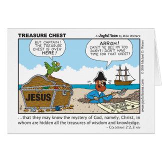 Treasure Chest card