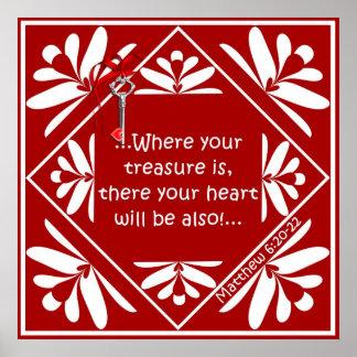 Treasure chest print