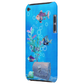 Treasure Chest & Pretty Fish in the Ocean iPod Touch Cover