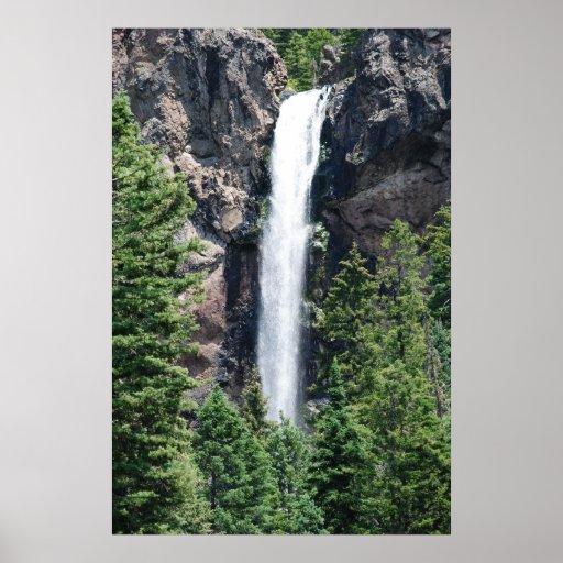 Treasure Falls, Colorado poster