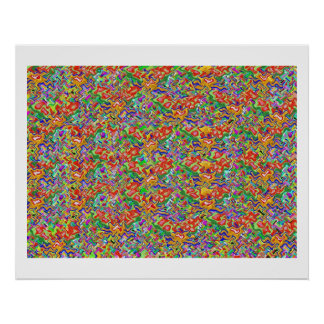 Treasure High Energy Color Theraphy Jewel Poster