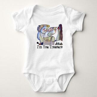 Treasure Hunters Baby Bodysuit