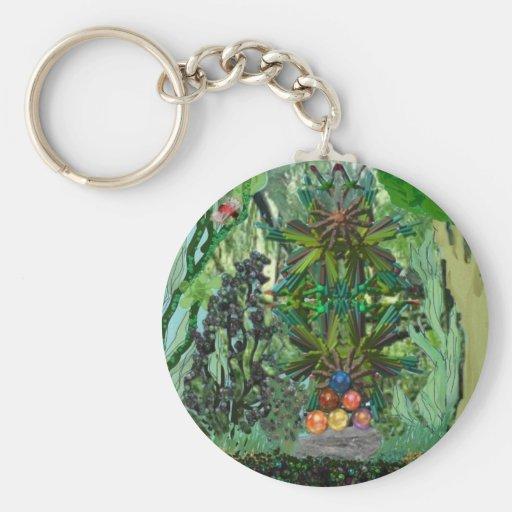 treasure in the jungle key chains