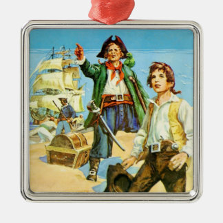 Treasure Island 1 Christmas Ornament