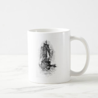 Treasure Island Pirate Ship Coffee Mug
