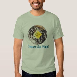 Treasure Our Planet Tee Shirts
