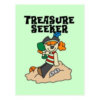 Treasure Seeker T-shirts and Gifts Postcard