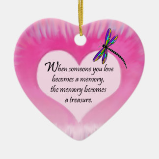 Treasured Memories Dragonfly Christmas Ornament