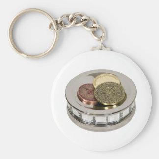 TreasureMirror110409 copy Basic Round Button Key Ring