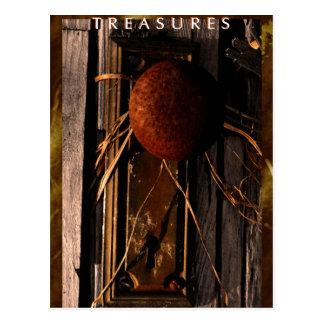 Treasures Postcard